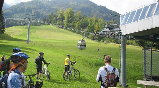 Downhill Mountain Biking in Austria